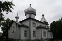 1. Старообрядческий храм в Муствеэ. 24.07.2017.