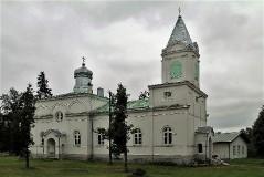 1. Храм святителя Николая Чудотворца в Муствеэ. 24.07.2013.
