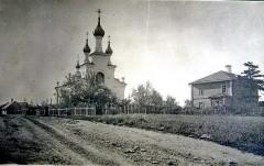 2. Первая церковь Казанской иконы Божией Матери на нынешней территории города Силламяэ. Архивное фото.