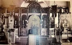 4. Первая церковь Казанской иконы Божией Матери на нынешней территории города Силламяэ. Архивное фото.
