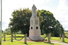 2. Памятник героям  Освободительной войны в Люганусе. 24.08.2013.