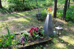 2. Отдельная могила у дер. Алайые. 23.07.2013