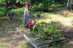 3. Отдельная могила у дер. Алайые. 23.07.2013