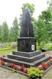 2. Памятник героям Освободительной войны 1918-1920 гг. в Кодавере. 24.07.2013.